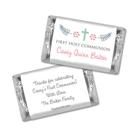 Blooming Life First Communion Personalized Miniature Wrappers