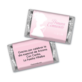 Communion Personalized HERSHEY'S MINIATURES Oraciones Preciosas