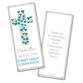 Sweet Sacrament Personalized Candy Bar - Wrapper Only