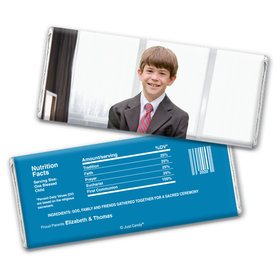All About Communion Personalized Candy Bar - Wrapper Only