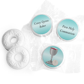Personalized Hershey's Kisses - Communion Host and Silver Chalice (50 Pack)