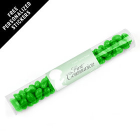 Personalized Communion Gumball Tube Child in Prayer (12 Pack)