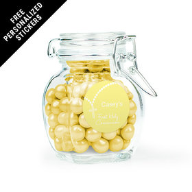 Communion Favor Personalized Latch Jar Rosary (6 Pack)