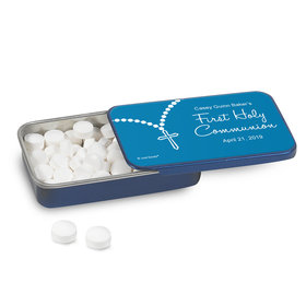 Personalized Communion Rosary Photo Mint Tin (12 Pack)