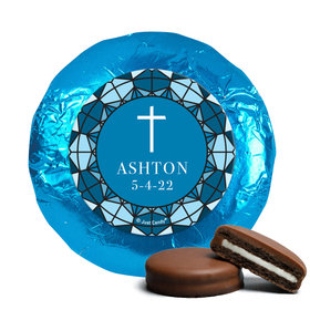 Personalized Communion Stained Glass Chocolate Covered Oreos