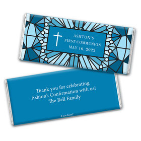 Stained Glass Personalized Candy Bar - Wrapper Only