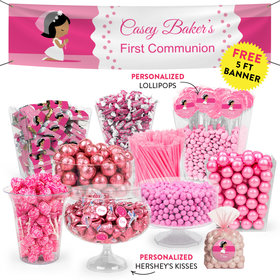 Personalized Girl First Communion Her Prayer Deluxe Candy Buffet