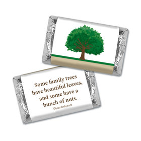 Family Reunion Personalized HERSHEY'S MINIATURES Wrappers Our Roots Tree