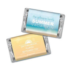 Chocolate Candy Bar and Wrapper Ohana Family Reunion Favor
