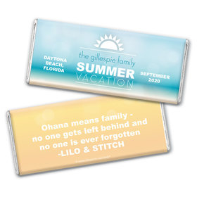 Personalized Family Reunion Ohana Hershey's Chocolate Bar & Wrapper