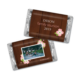 Chocolate Candy Bar and Wrapper Dogwood Family Reunion Favor