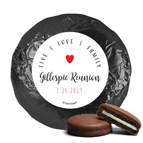 Personalized Chocolate Covered Oreos - Family Reunion Live-Love-Family