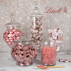 Rose Gold Celebrate Deluxe Candy Buffet