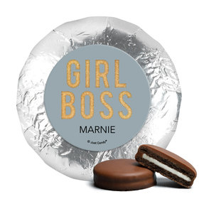 Personalized Girl Boss Chocolate Covered Oreos