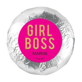 """Personalized Girl Boss 1.25"""" Stickers (48 Stickers)"""
