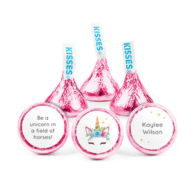 Personalized Birthday Magical Unicorn Hershey's Kisses (50 pack)