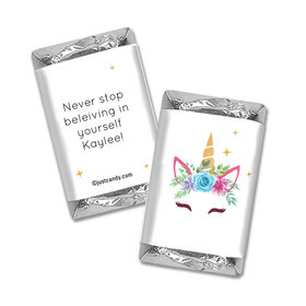 Personalized Birthday Magical Unicorn Hershey's Miniatures Wrappers