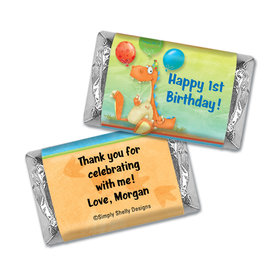 Party in the Park Personalized Miniature Wrappers