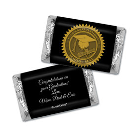 School Seal Personalized Miniature Wrappers