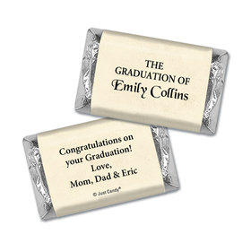 Graduation Personalized HERSHEY'S MINIATURES Diploma with Gold Seal