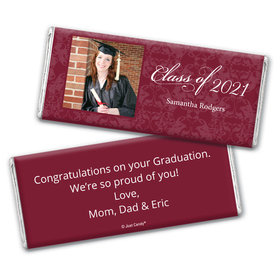 Graduation Personalized Chocolate Bar Baroque Photo