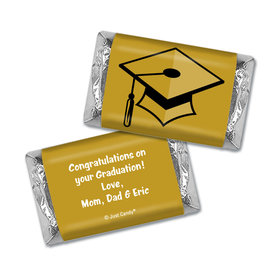 Graduation Personalized HERSHEY'S MINIATURES Wrappers Cap & Tassel