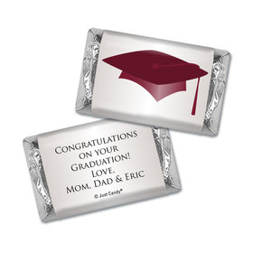 Graduation Personalized HERSHEY'S MINIATURES Wrappers Cap