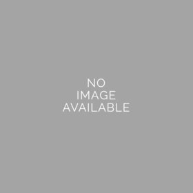 Personalized Graduation Red Script Small Gold Plastic Tin with Just Candy Red Jelly Beans