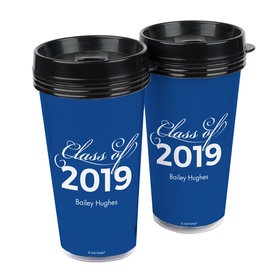 Personalized Graduation Class of Travel Mug