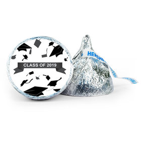 Personalized Graduation Hats Off 7oz Giant Hershey's Kiss