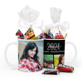 Personalized Graduation Photos 11oz Mug with Hershey's Miniatures