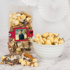 Personalized Graduation Photo Trendy Trash Gourmet Popcorn Gourmet Popcorn 8 oz Bags