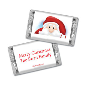Ho Ho Ho Santa Christmas Personalized Miniature Wrappers