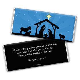 Holy Night Personalized Candy Bar - Wrapper Only