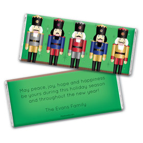 Nutcrackers a Plenty Personalized Candy Bar - Wrapper Only