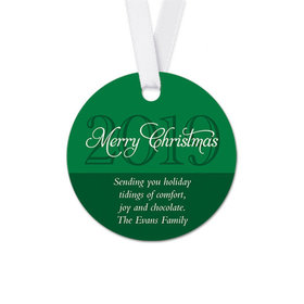 Personalized Christmas Year Round Favor Gift Tags (20 Pack)
