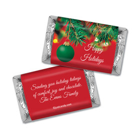 Decorated Tree Christmas Personalized Miniature Wrappers