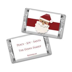 Cut Out Santa Christmas Personalized Miniature Wrappers