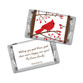 Icy Perch Christmas Personalized Miniature Wrappers