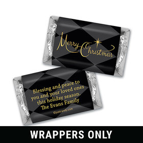 A Magical Holiday Christmas Personalized Miniature Wrappers