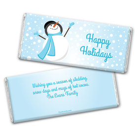 Catching Snowflakes Personalized Candy Bar - Wrapper Only