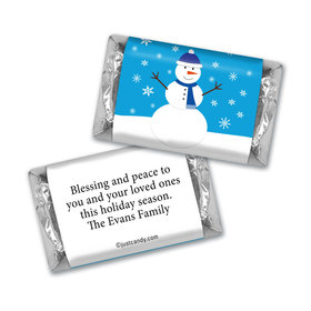 Friendly Frosty Christmas MINIATURES Candy Personalized Assembled