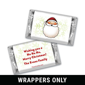 Jolly and Round Christmas Personalized Miniature Wrappers