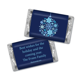 Snowflake Ornament Christmas Personalized Miniature Wrappers