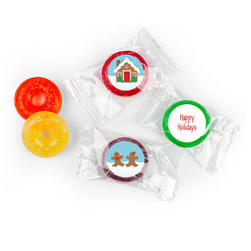 Gingerbread Personalized Christmas LIFE SAVERS 5 Flavor Hard Candy Assembled