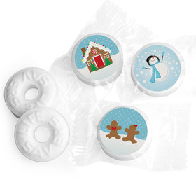Gingerbread Personalized Christmas LIFE SAVERS Mints Assembled