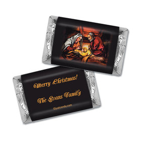 Christmas Personalized HERSHEY'S MINIATURES Wrappers Sweetest Gift is Jesus Christmas Birth
