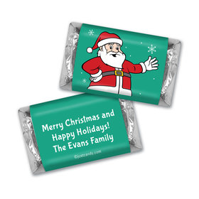 Very Merry Santa Christmas MINIATURES Candy Personalized Assembled