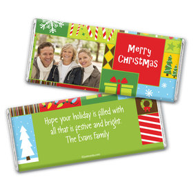 Wonderful Time of Year Personalized Candy Bar - Wrapper Only