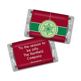 Jingle Bells Christmas Personalized Miniature Wrappers